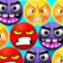 Angry Face Bubble Shooter